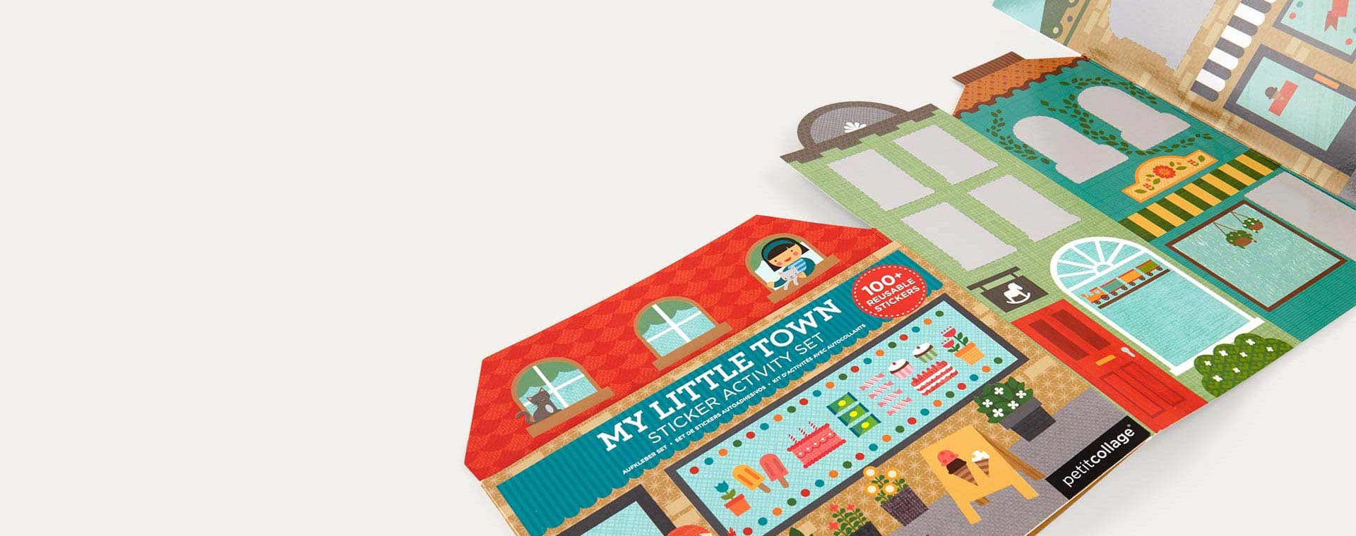 My Little Town Petit Collage Sticker Activity Set