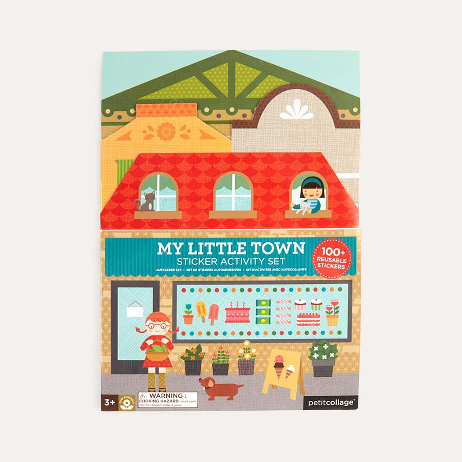 My Little Town Petit Collage Sticker Activity Set