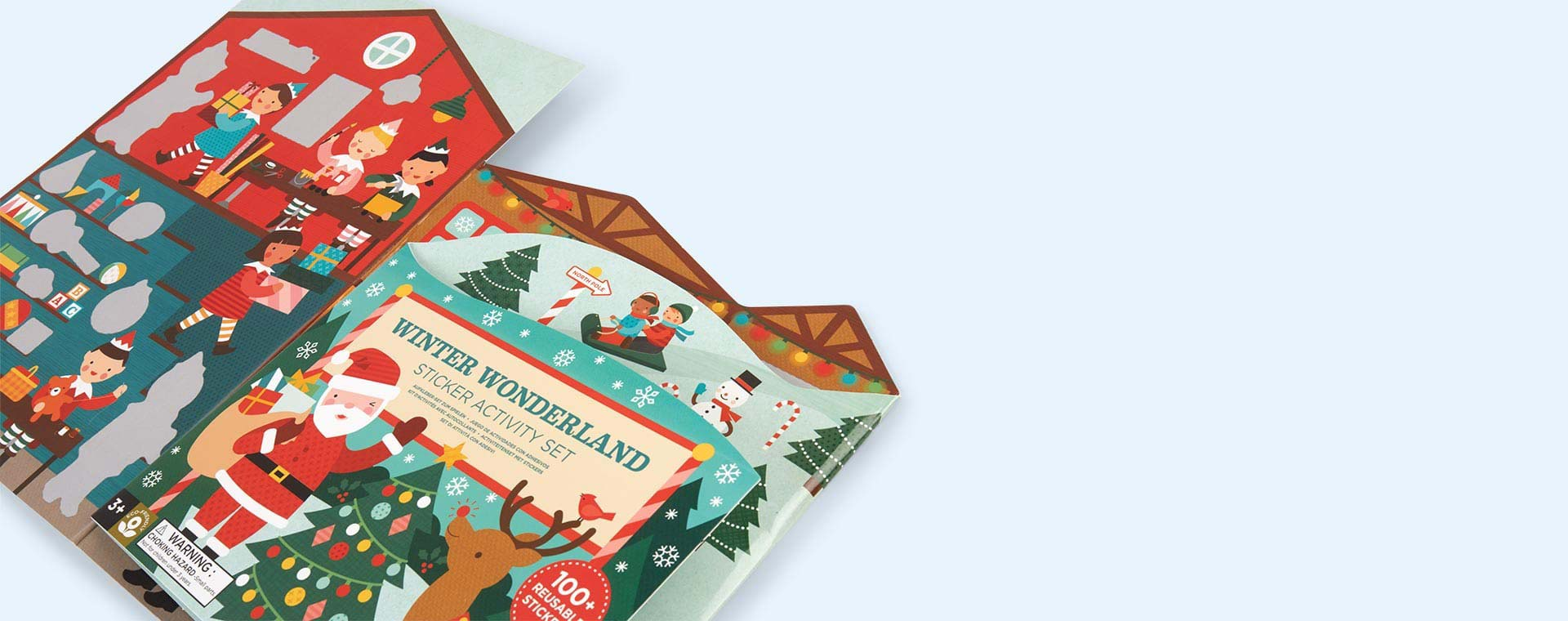 Winter Wonderland Petit Collage Sticker Activity Set