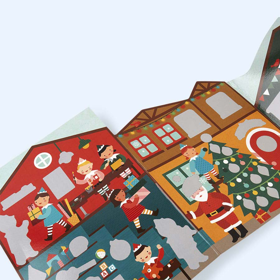 Winter Wonderland Petit Collage Sticker Activity Set