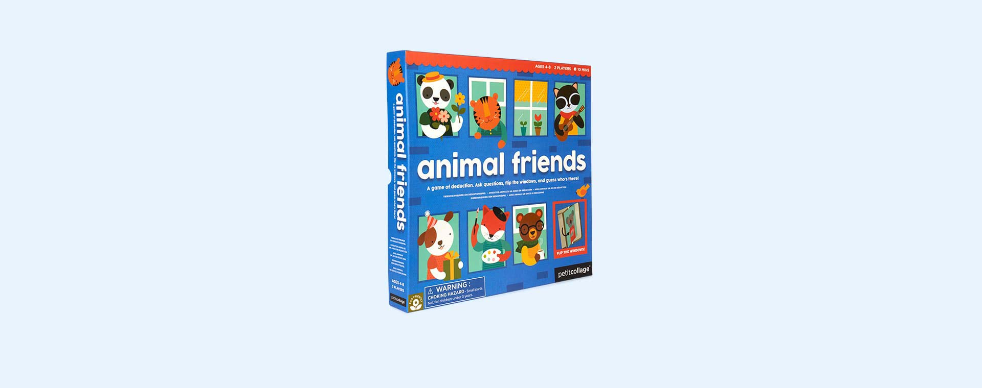 Multi Petit Collage Animal Friends Game