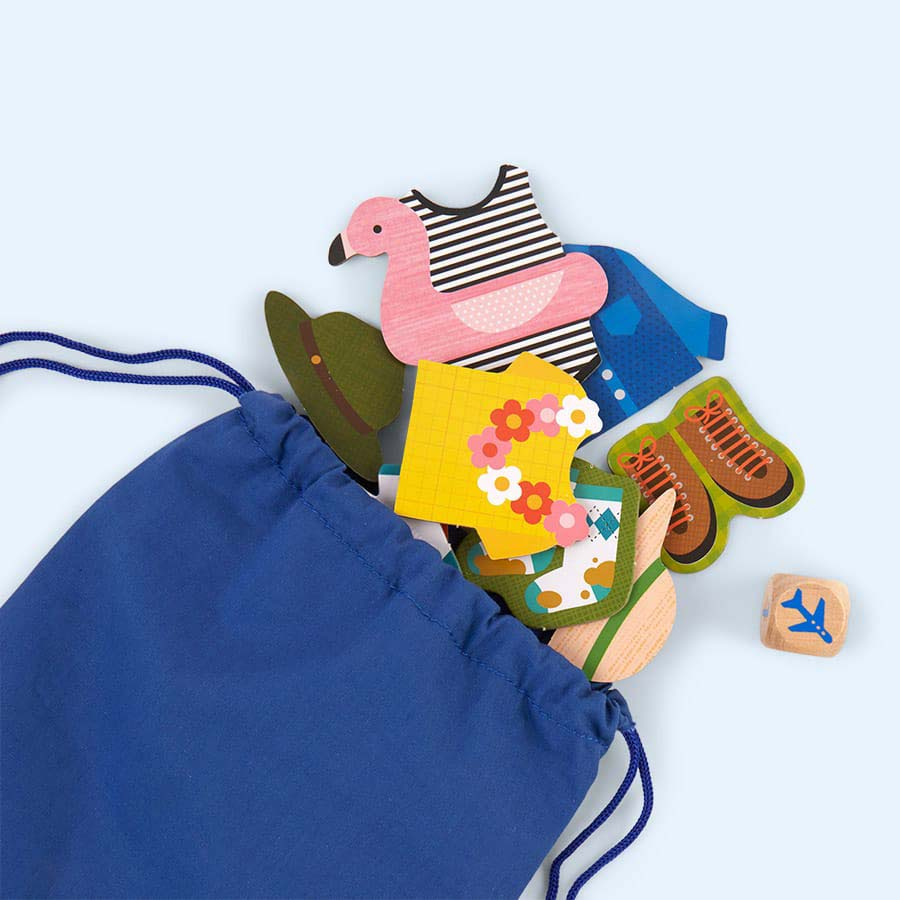 Multi Petit Collage Pack Your Bags Game