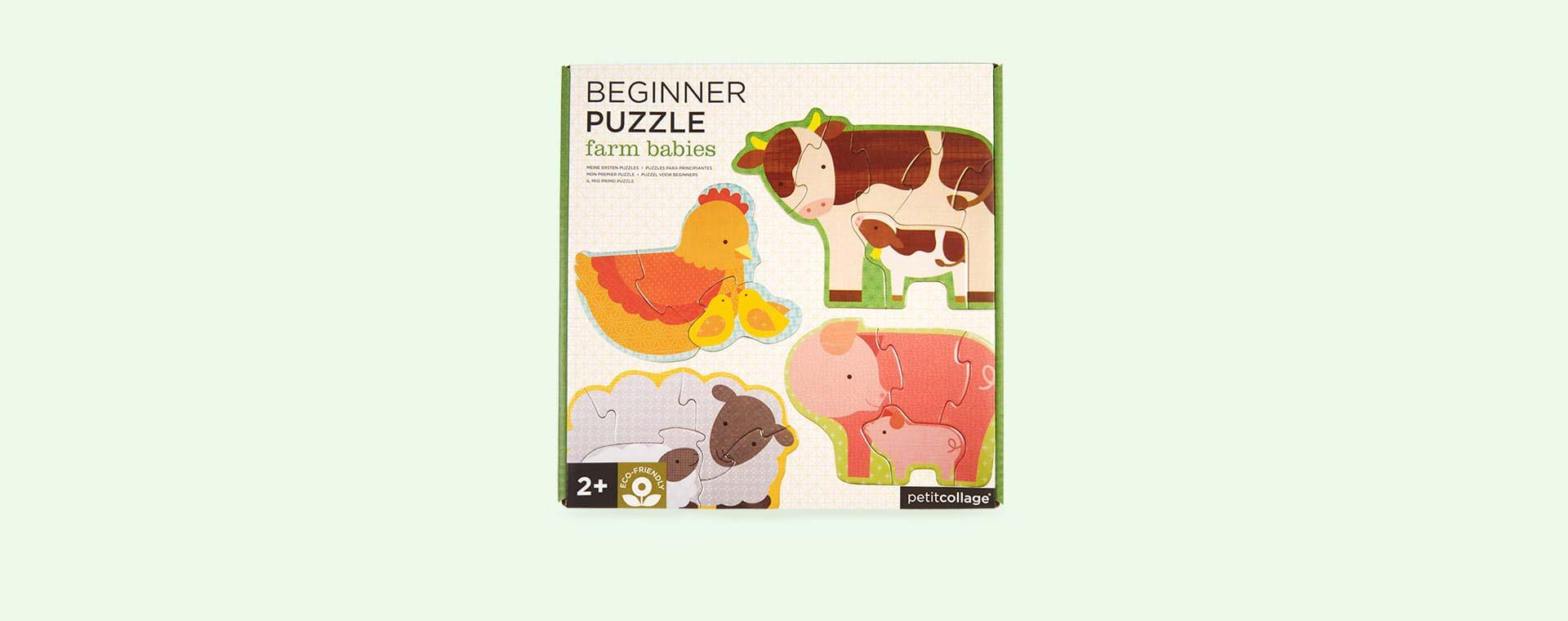 Farm Babies Petit Collage Beginner Puzzle
