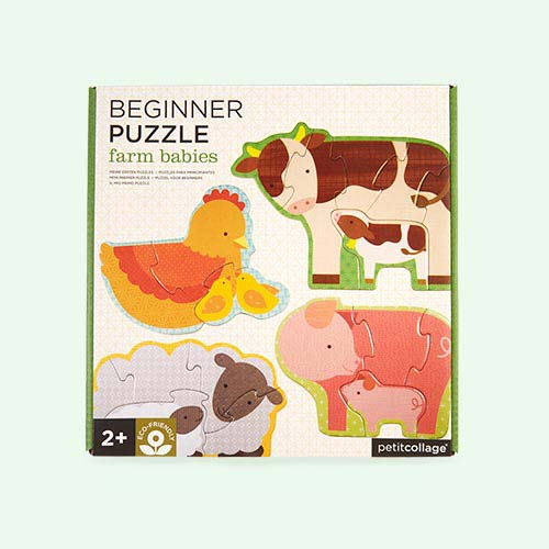 Farm Babies Petit Collage Beginner Puzzle