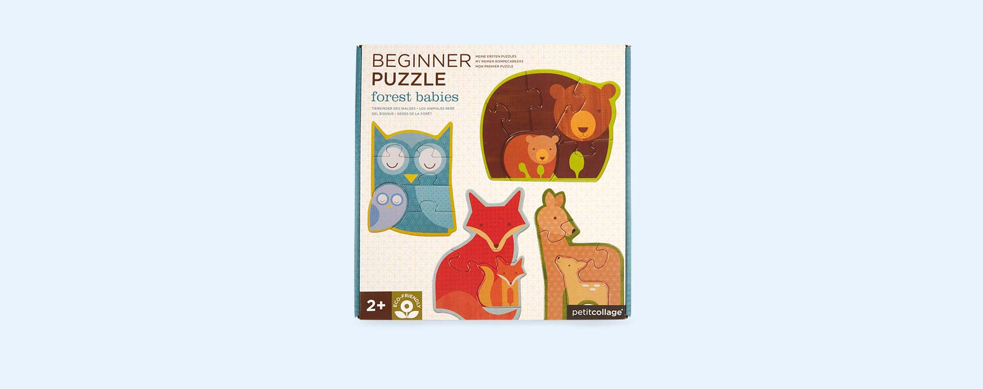 Forrest Babies Petit Collage Beginner Puzzle
