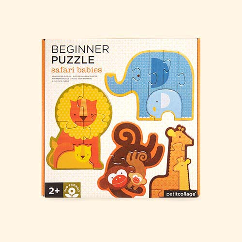 Safari Babies Petit Collage Beginner Puzzle
