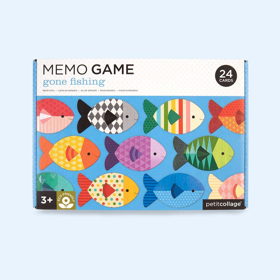 Fish Petit Collage Memo Game