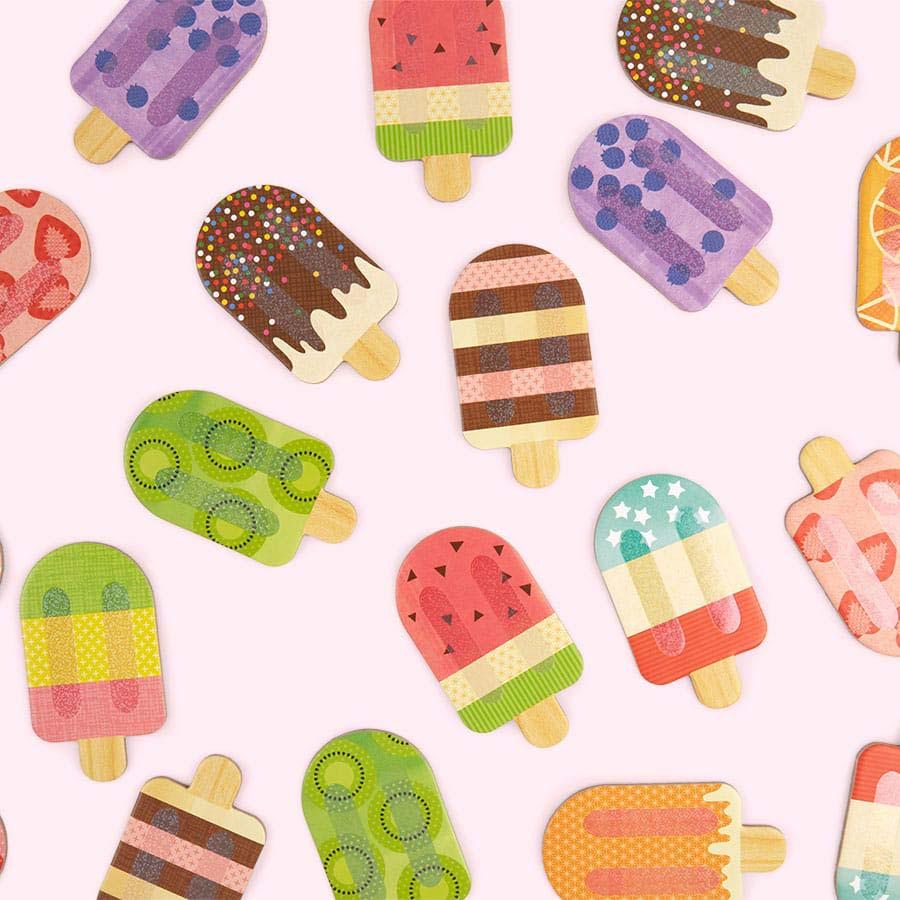 Ice Cream Petit Collage Memo Game