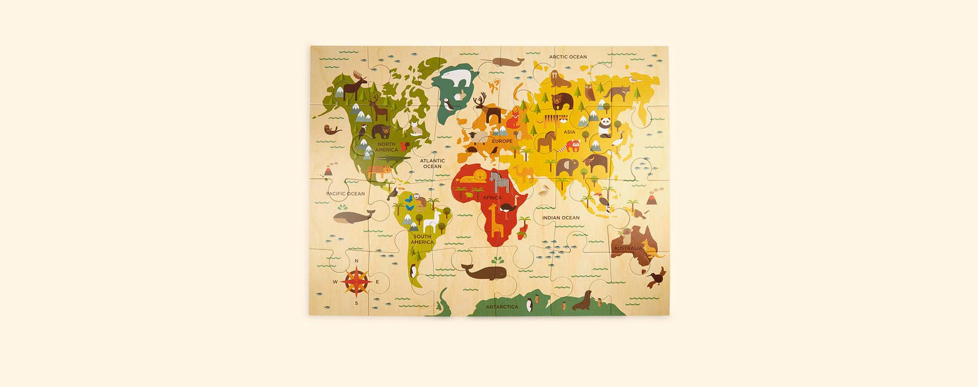 Our World Petit Collage Floor Puzzle