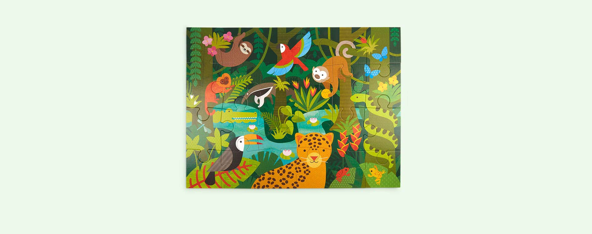 Rainforrest Petit Collage Floor Puzzle