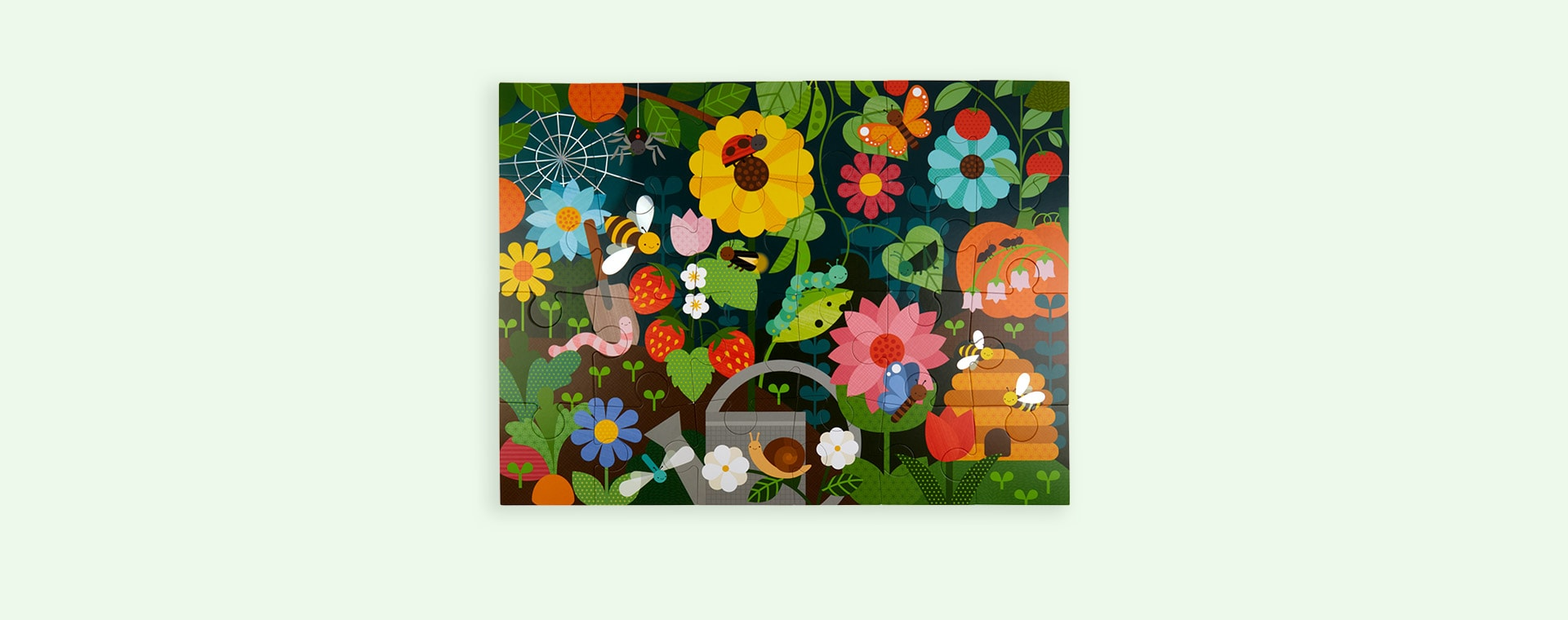 Secret Garden Petit Collage Floor Puzzle