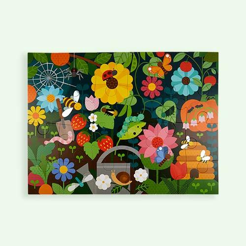 Secret Garden Petit Collage Floor Puzzle
