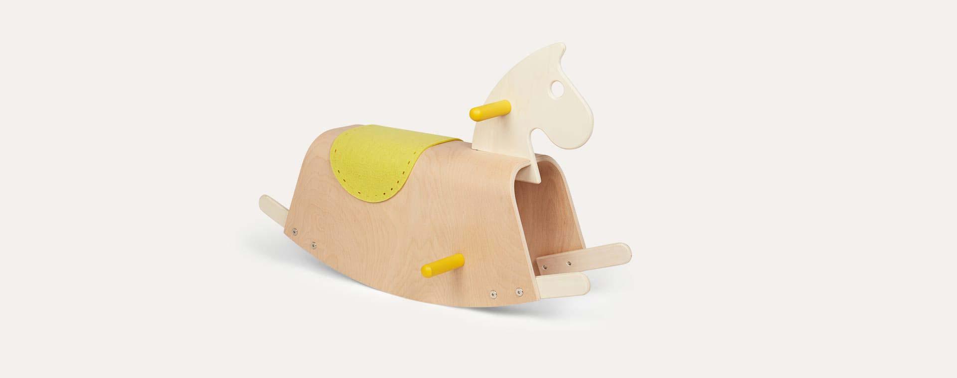 Wooden Mamatoyz Midilli Rocking Horse