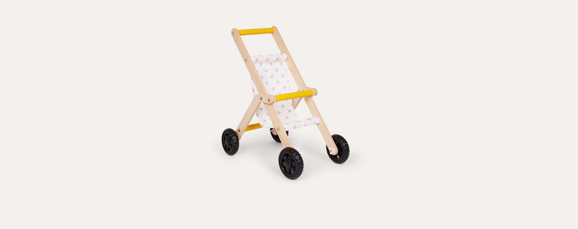 Wood Mamatoyz Baby Stroller