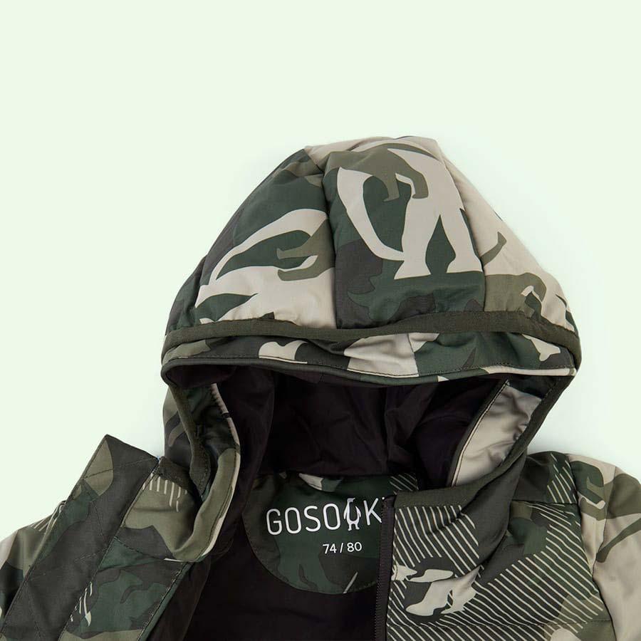 Camou GOSOAKY Brother Bear Unisex Puffer Jacket