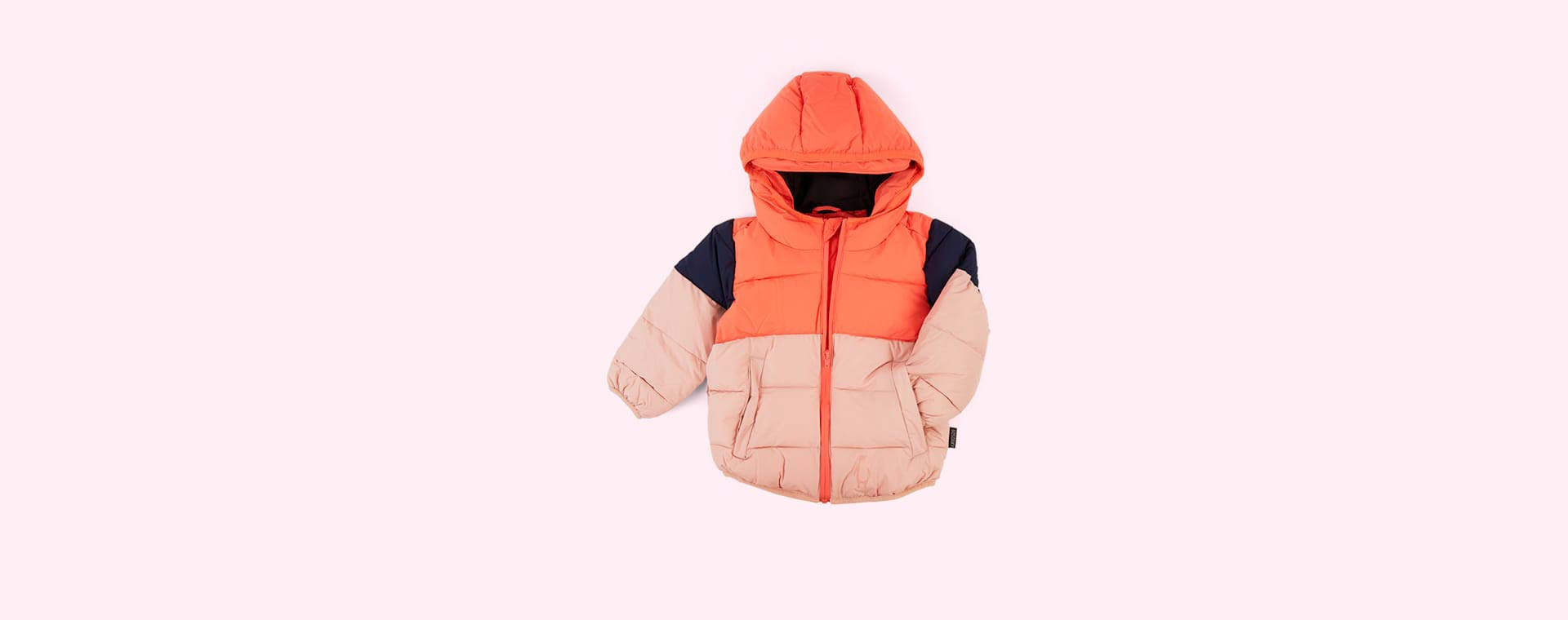 Living Coral GOSOAKY Brother Bear Unisex Puffer Jacket