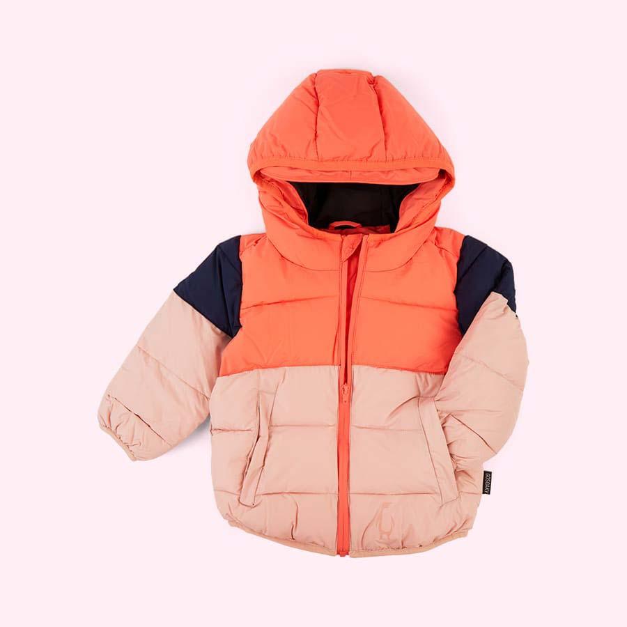 Living Coral GOSOAKY Brother Bear Unisex Puffer Jacket