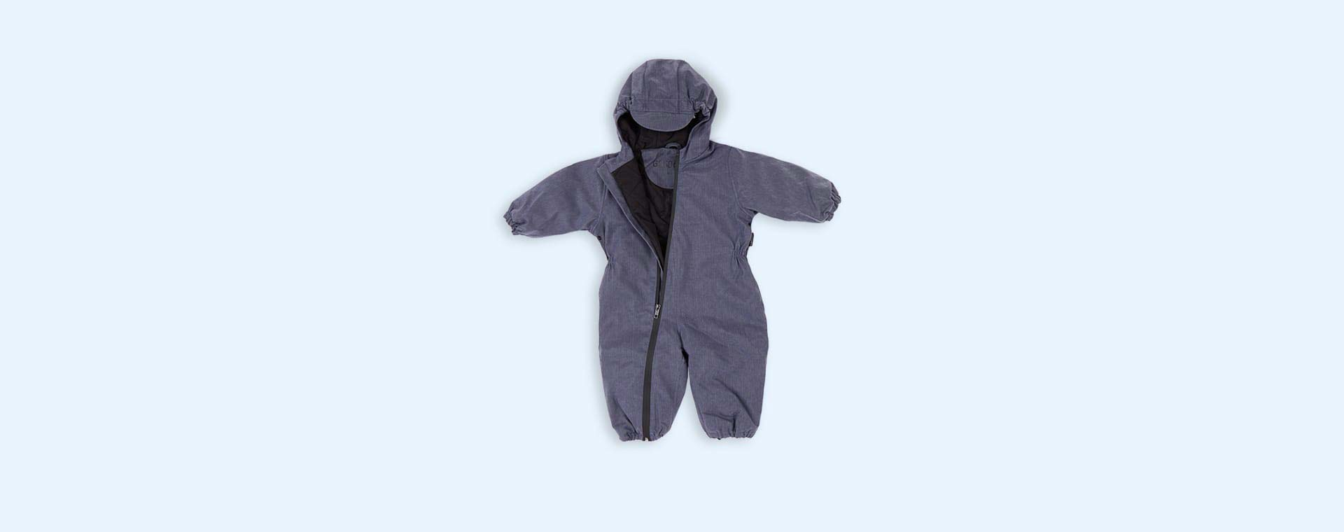 Dark Denim GOSOAKY Unisex Padded Onesie