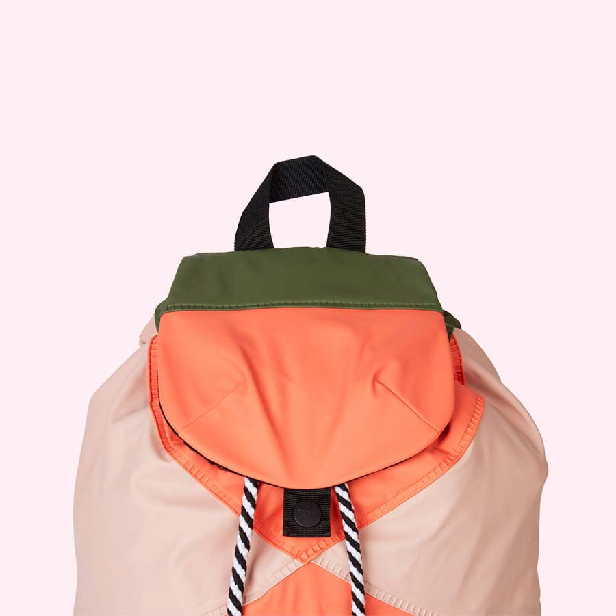 Living Coral GOSOAKY Unisex Waterproof Backpack