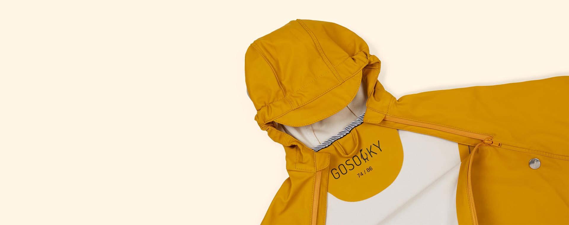 Lemon Curry GOSOAKY Unisex Cape