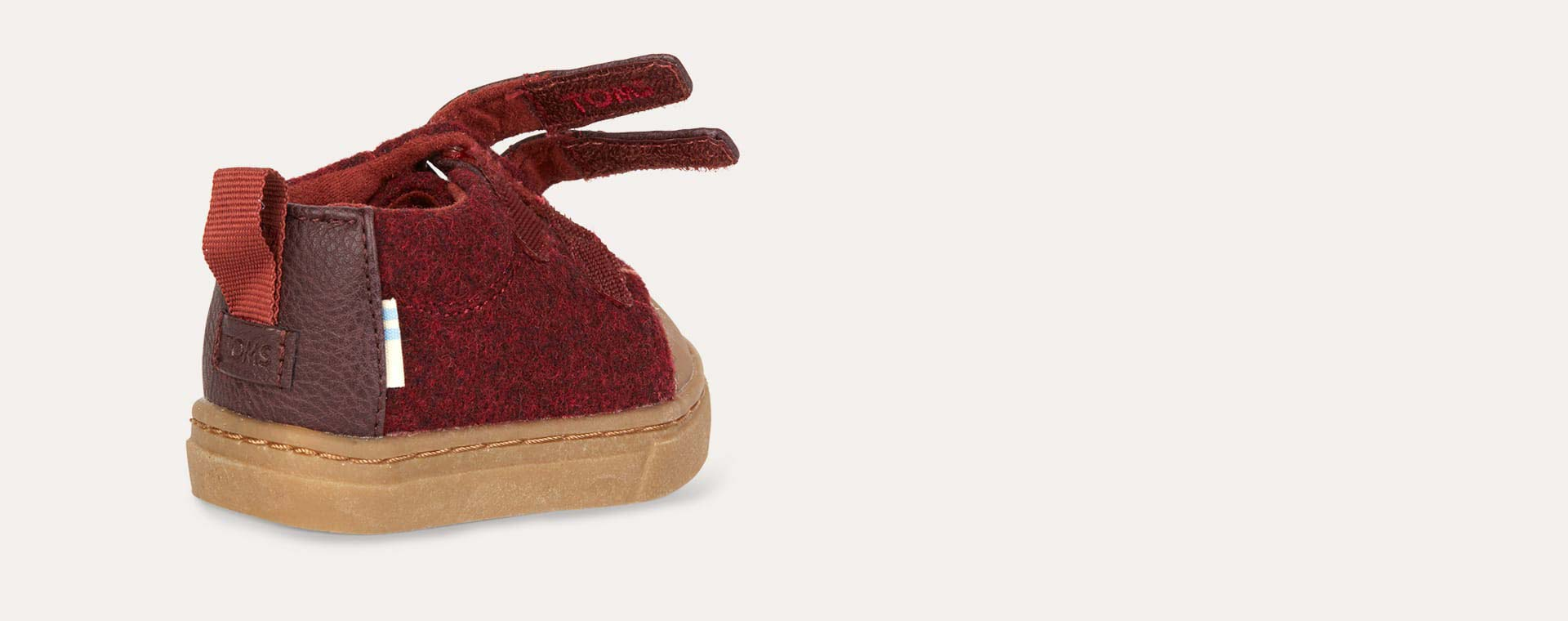 Burgundy TOMS Lenny Boot
