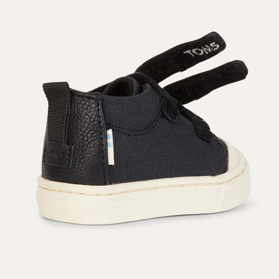 Black TOMS Lenny Velcro Sneaker