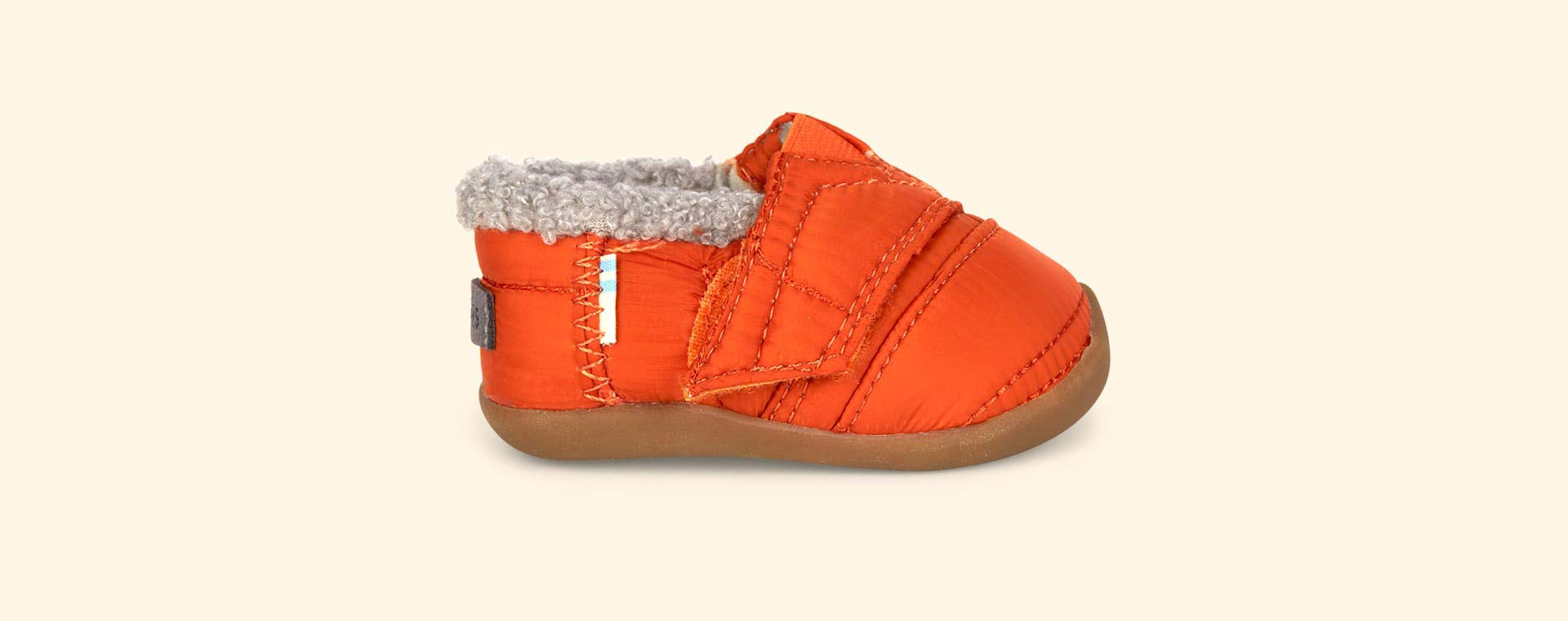 Orange TOMS House Slipper