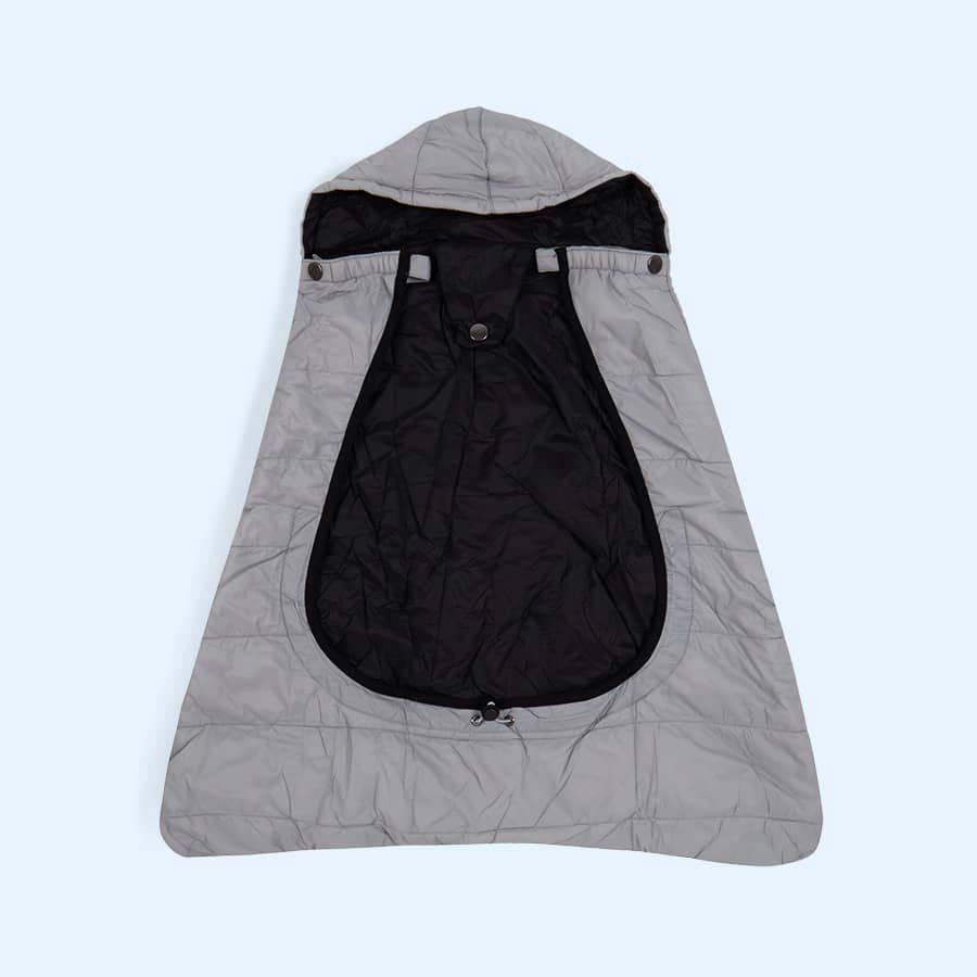 Pewter Cuddle Co Comfi Cape 2 in 1