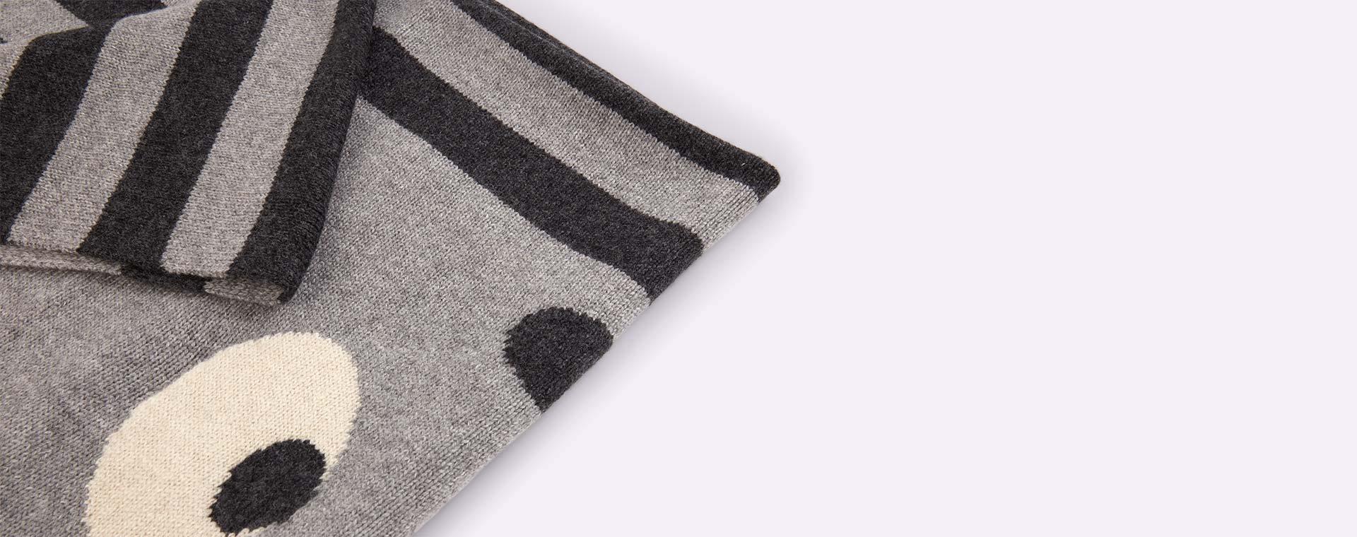 Grey The Bonnie Mob Bunny Ears Blanket