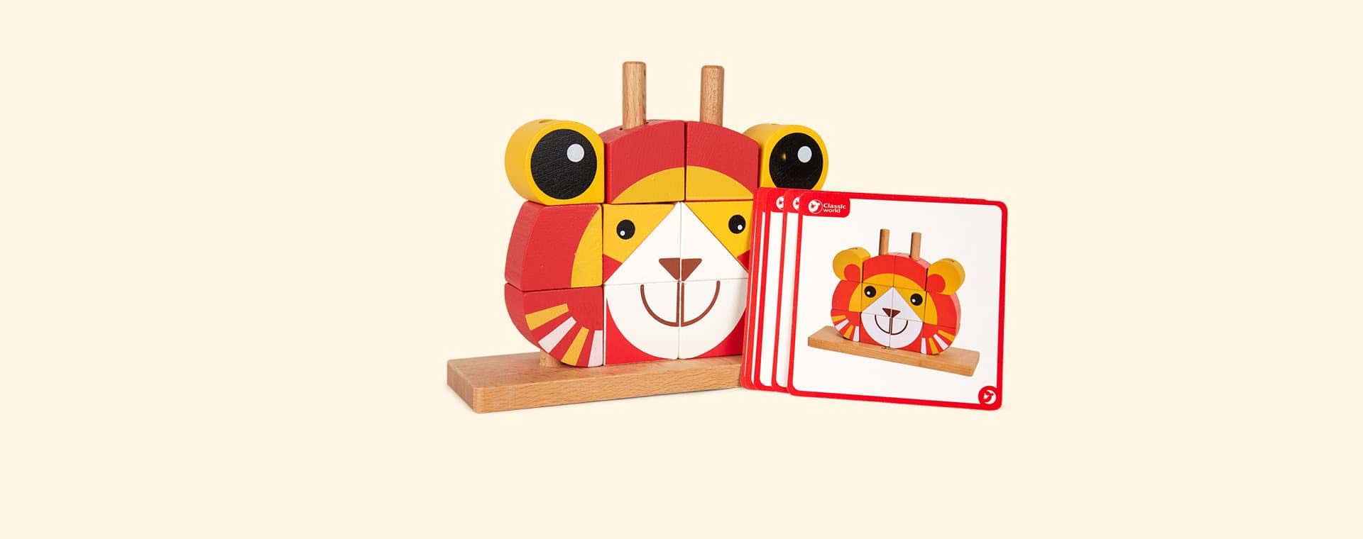 Multi Classic World Lion Uni Blocks