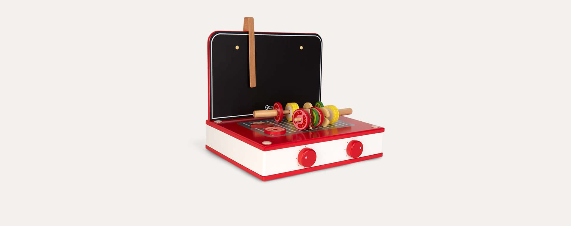 Red Classic World Retro Tabletop Kitchen