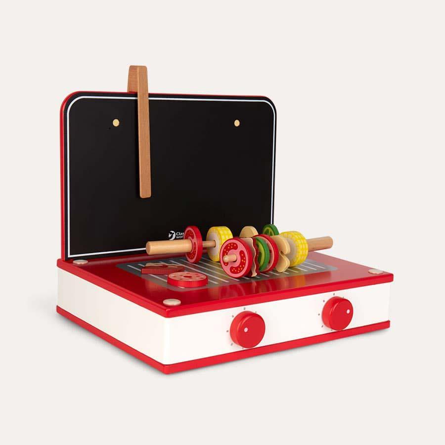 Red Classic World Retro Tabletop Kitchen