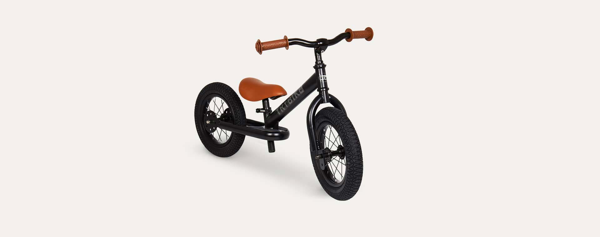 Black TRYBIKE Steel 2-in-1 Trike