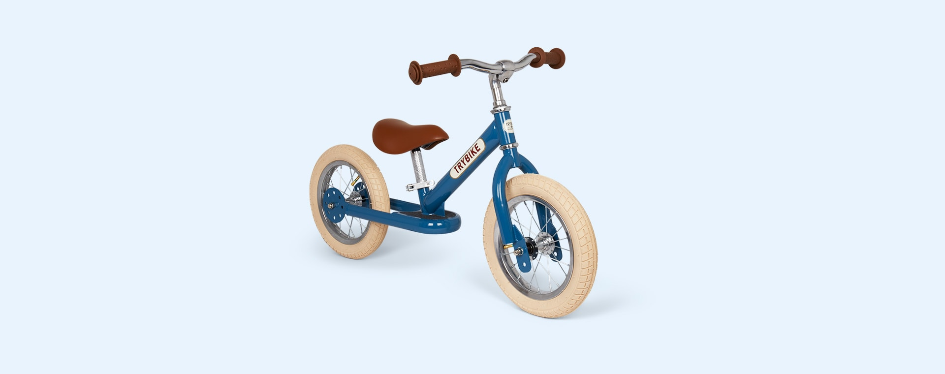 Blue TRYBIKE Steel 2-in-1 Trike