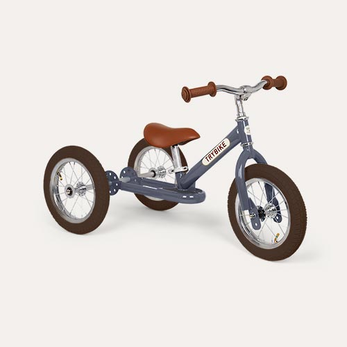 Grey TRYBIKE Steel 2-in-1 Trike