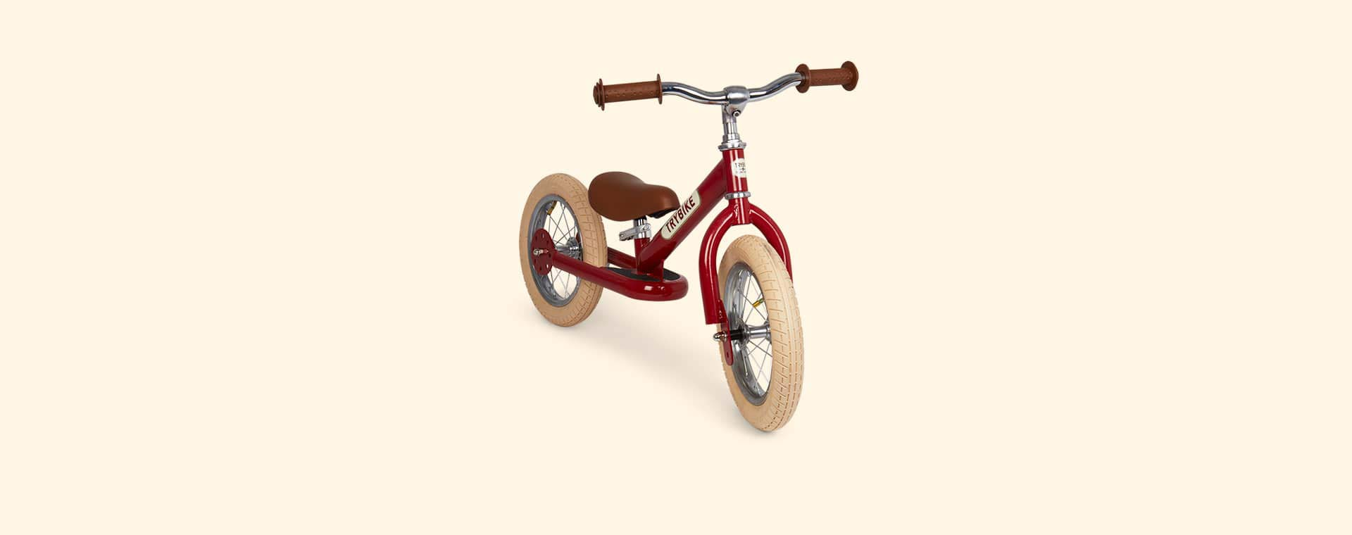 Red TRYBIKE Steel 2-in-1 Trike