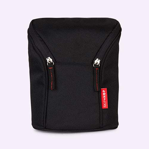 Black Skip Hop Grab & Go Double Bottle Bag