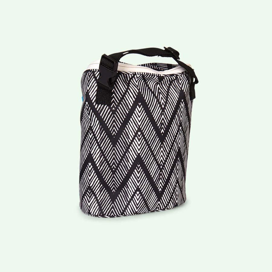 Zig Zag Zebra Skip Hop Grab & Go Double Bottle Bag