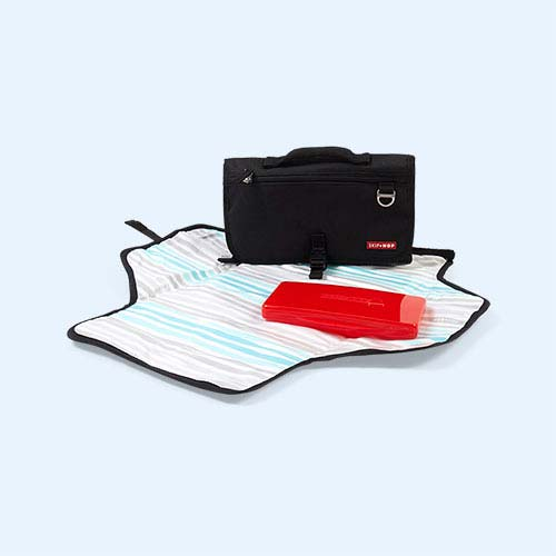 Black Skip Hop Pronto Travel Changing Mat