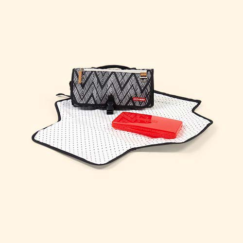 Zig Zag Zebra Skip Hop Pronto Travel Changing Mat