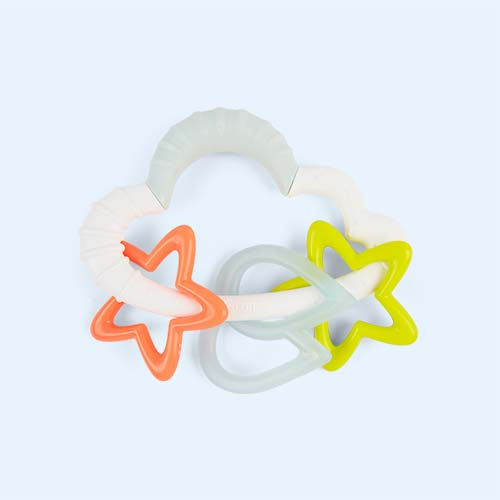 Multi Skip Hop Silver Linings Starry Rattle