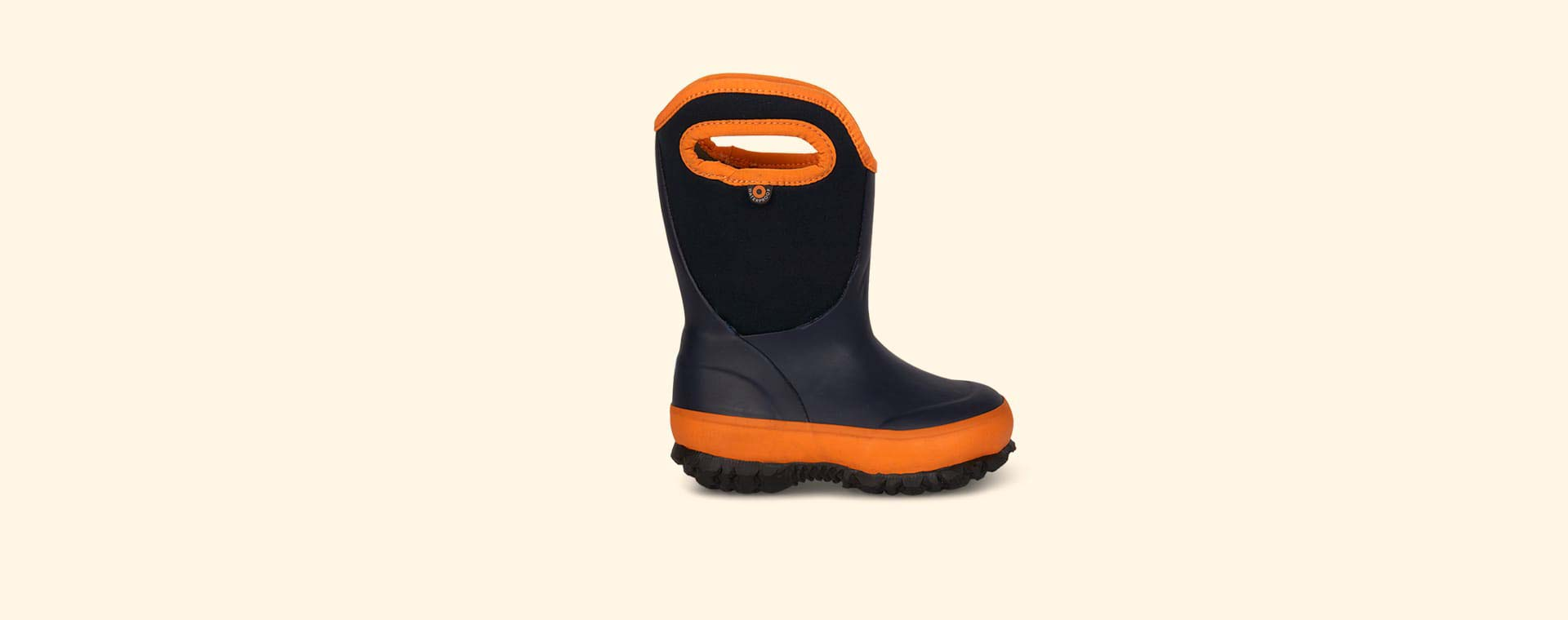 Navy Bogs Slushie Kids Wellies