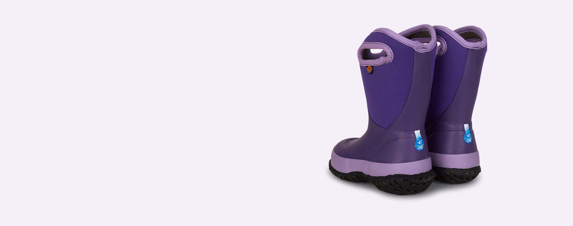 Violet Bogs Slushie Kids Wellies