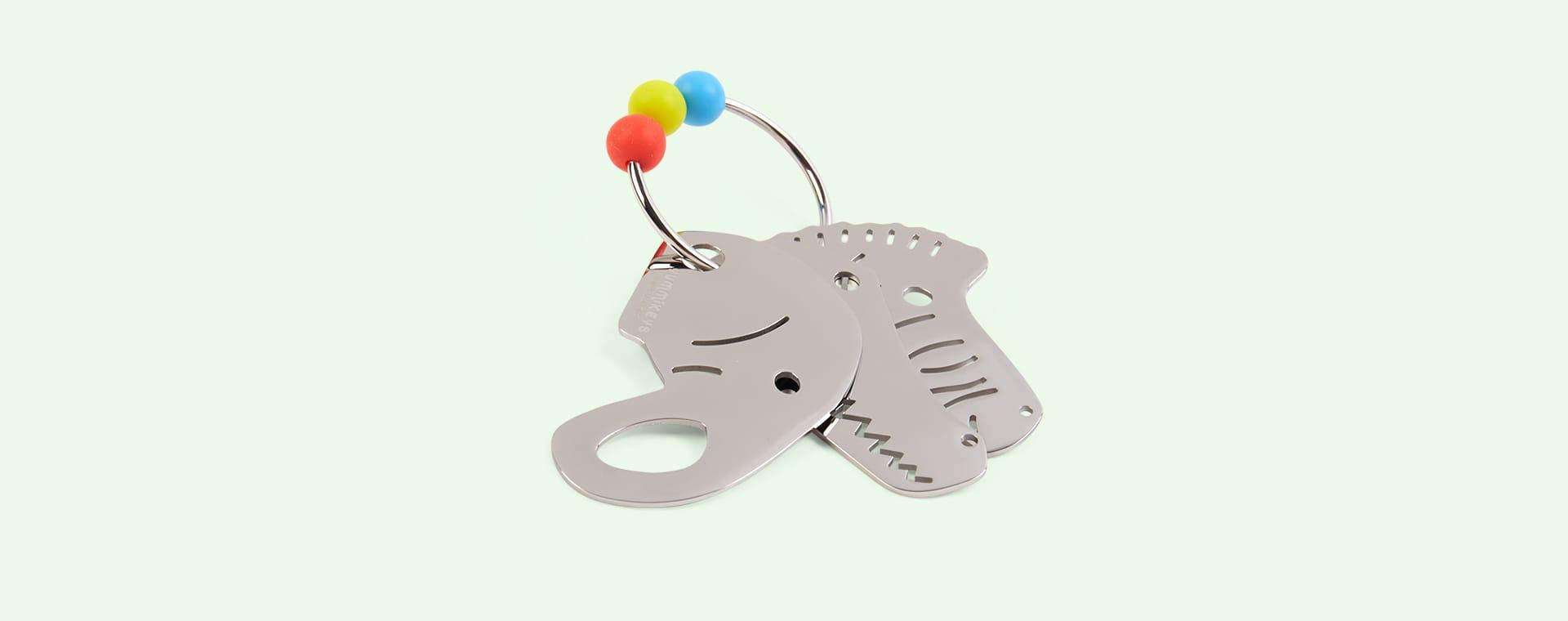 Silver Yummikeys Sensory Toy Keys