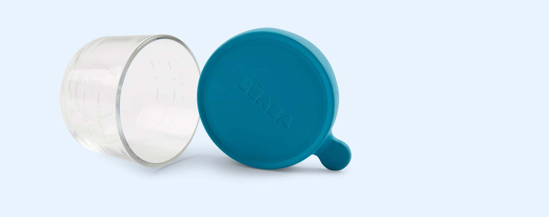 150ml Portions Beaba Glass Weaning Portion Bowls