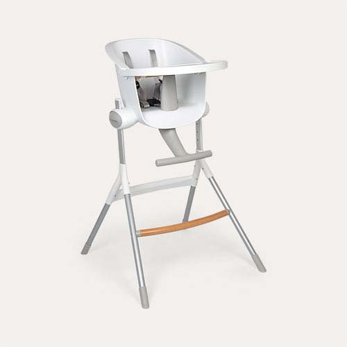 White Beaba Up & Down Highchair