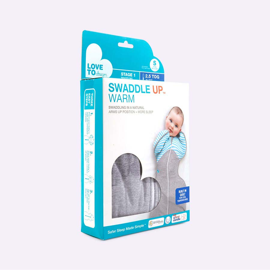 Grey Love To Dream Swaddle Up Warm 2.5 tog