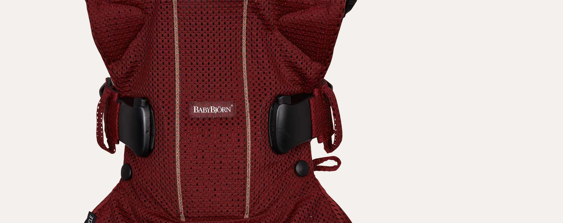 Burgandy BabyBjorn Baby Carrier One
