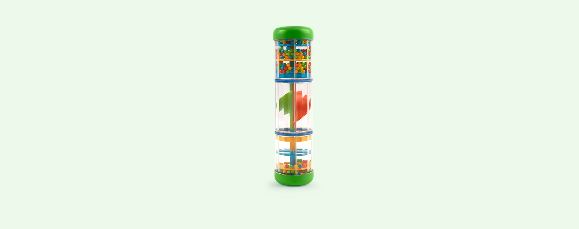 Green Halilit Rainbowspinner Rainmaker Toy
