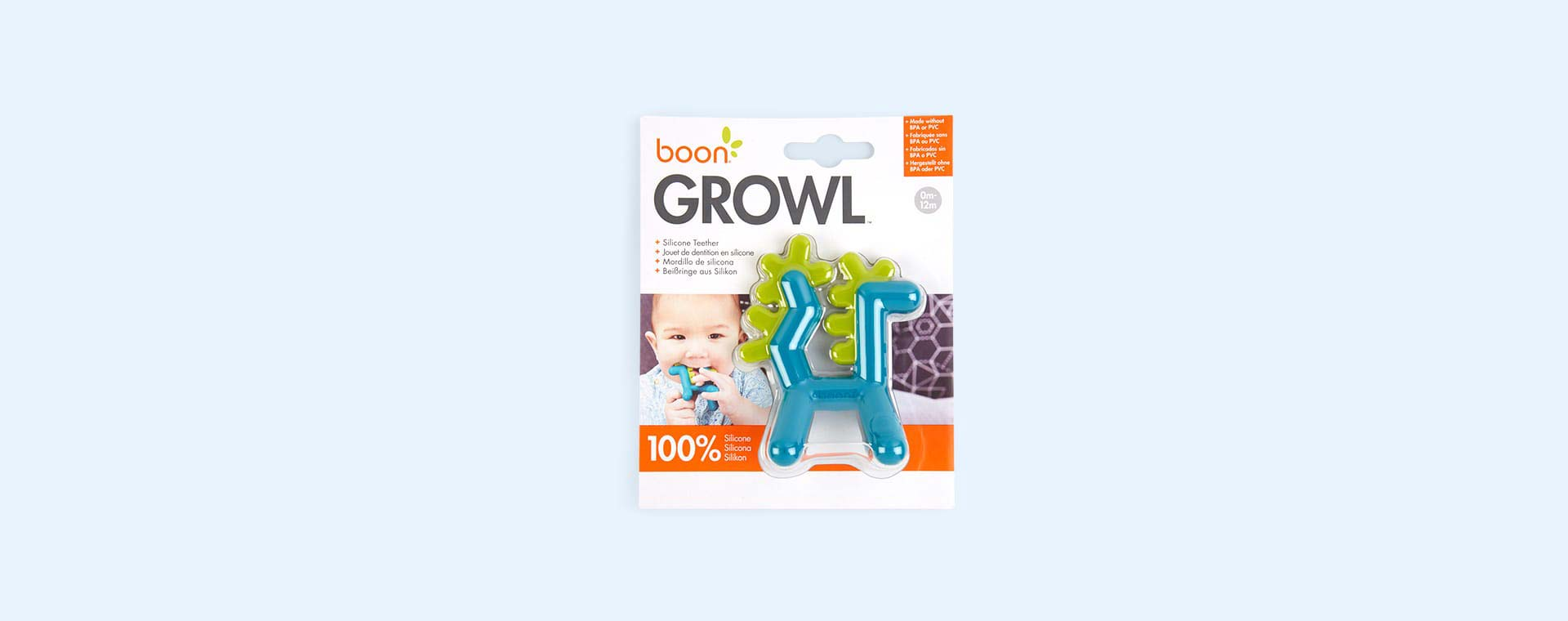 Green Boon GROWL Dragon Teether